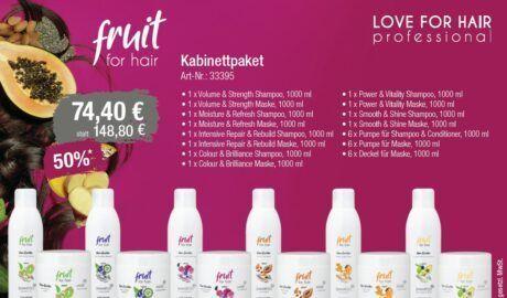 fruit for hair – Kabinettpaket